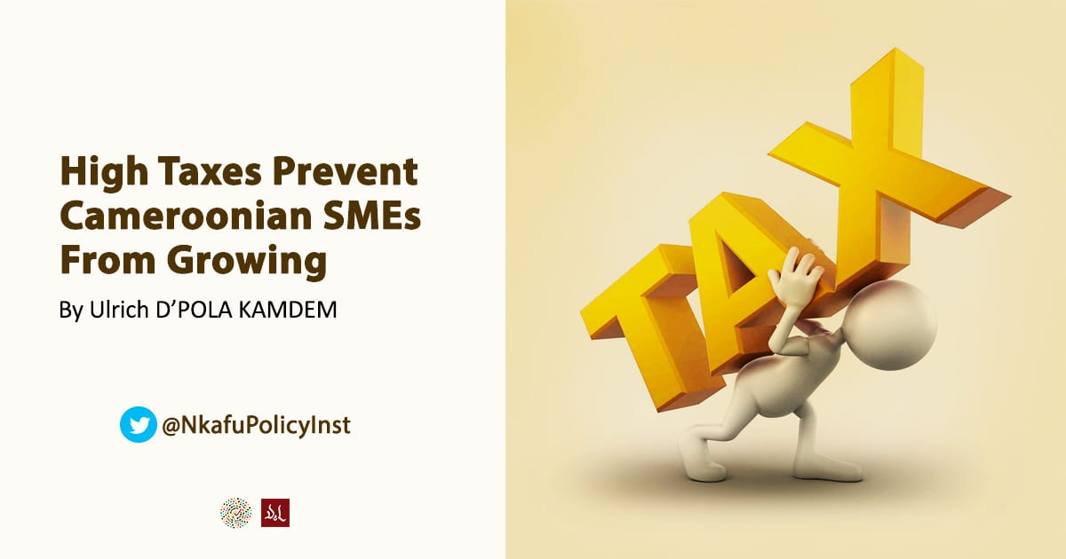 High Taxes Prevent Cameroonian SMEs1 From Growing