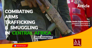 Combating Arms trafficking and smuggling in Central Africa - What Strategies?