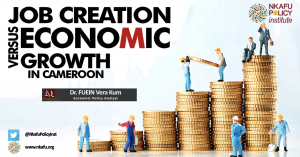 Job creation versus economic Growth in Cameroon