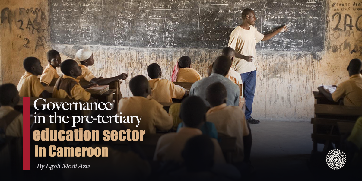 Governance in the pre-tertiary education sector in Cameroon