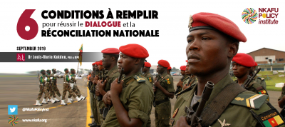 6 Conditions NAtional Dialogue