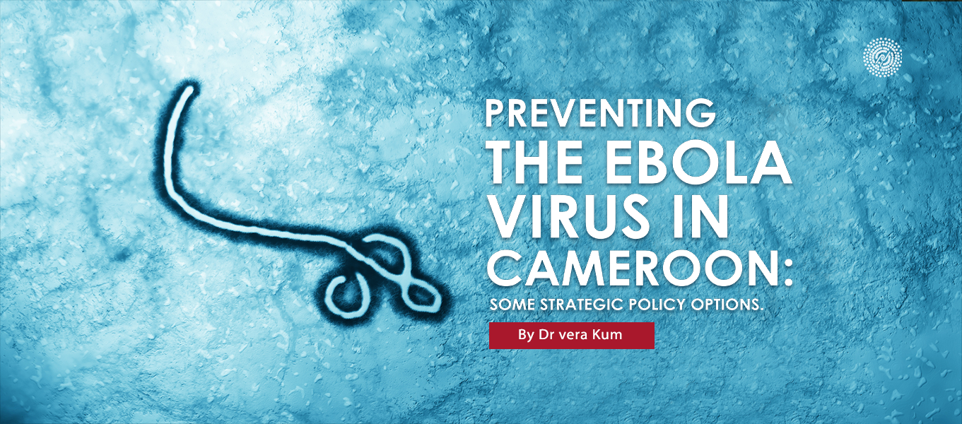 Preventing The Ebola Virus In Cameroon: Some Strategic Policy Options.