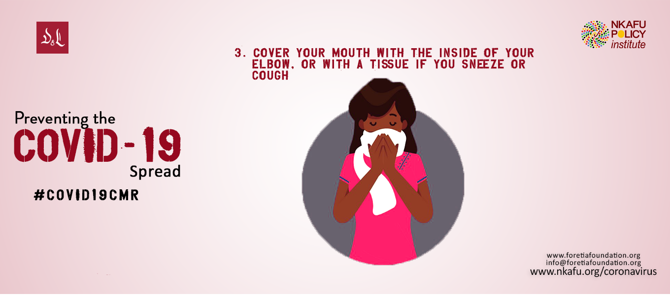 Cover Your mouth or nose when coughing/ Sneezing