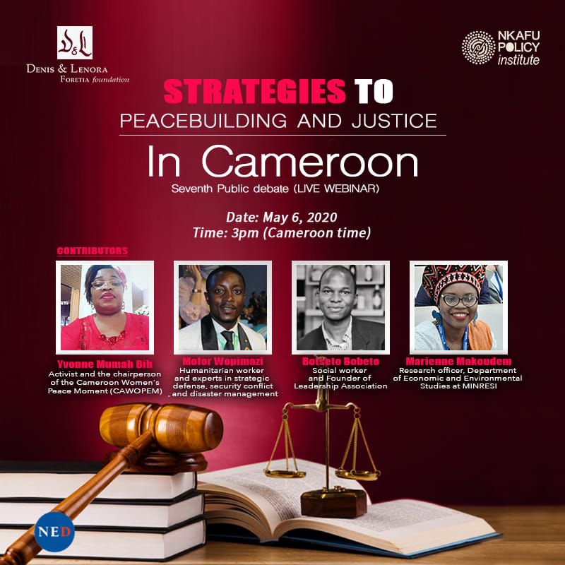 Peace building And Justice In Cameroon 7