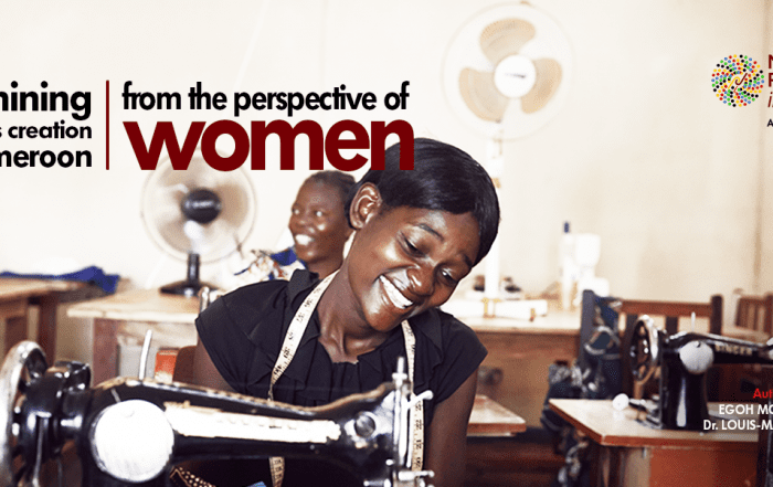 Examining Business Creation In Cameroon From The Perspective Of Women_DBI_Second Op