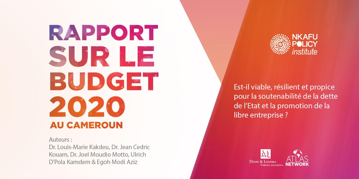 Rapport Sur le Budget 2020 Au Cameroun