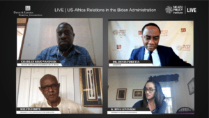 nkafu panel - Us-Africa relation in the administration biden