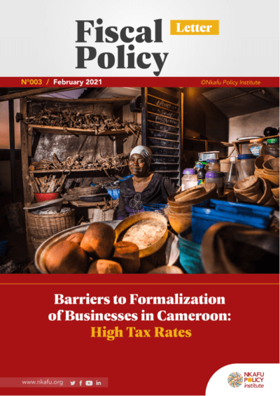 Barrier to formalization of business in cameroon