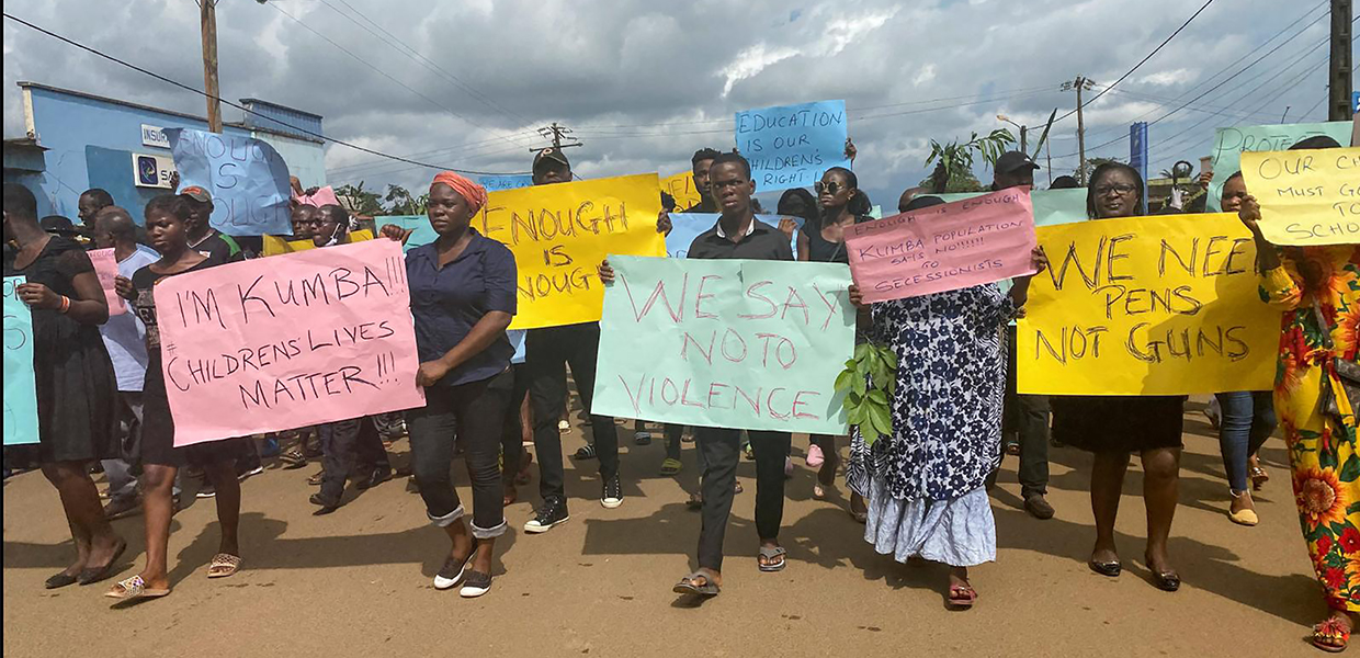 State-Centric Approach to Resolving the Anglophone Conflict in Cameroon